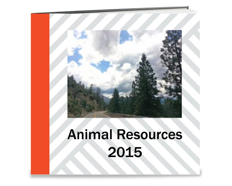 Animal Resources Rescue Book 2015